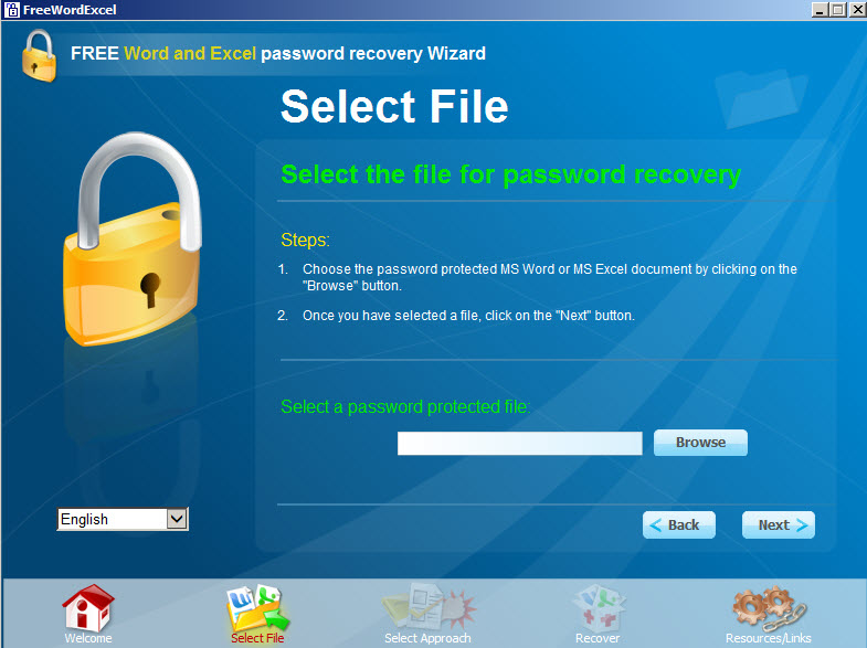 microsoft word password recovery free