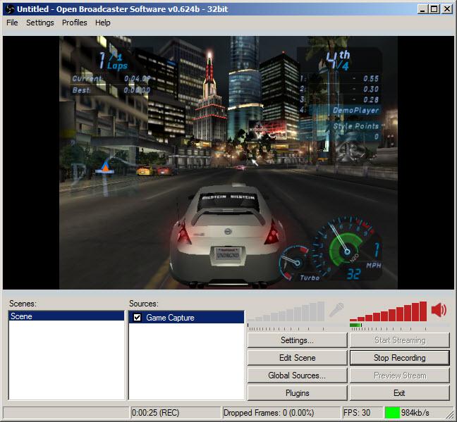 Open broadcaster software скачать для windows xp