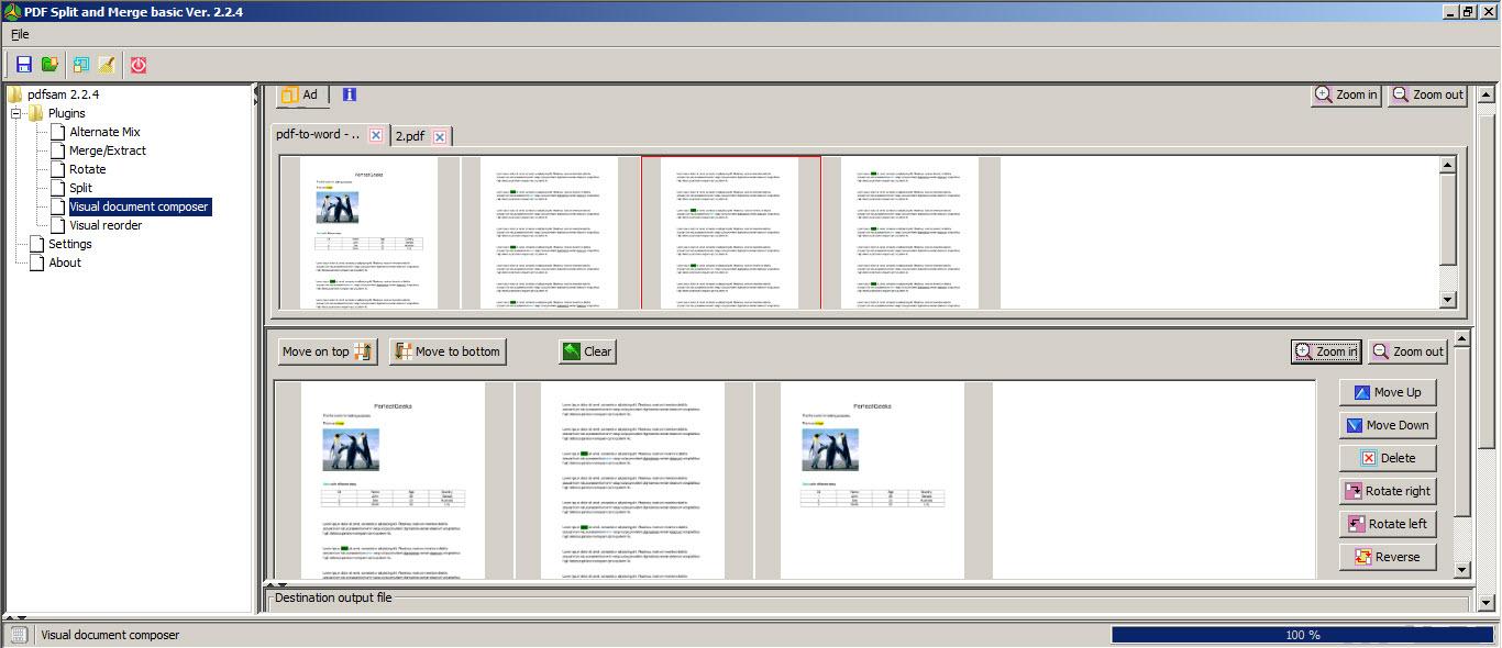 split combine pdf free win0ows 10 64 bit